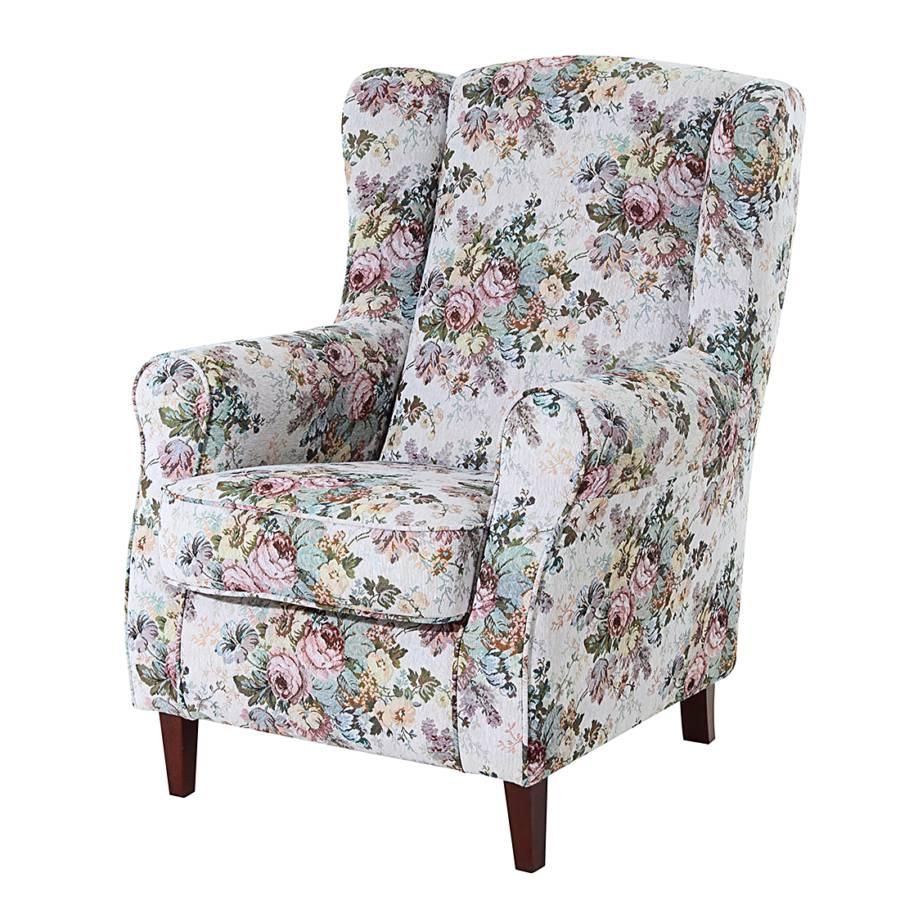 ohrensessel katinka gobelinstoff hellgrau gebl mt home24. Black Bedroom Furniture Sets. Home Design Ideas
