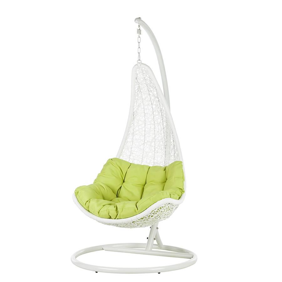 h ngesessel jungle looba aus polyrattan in gr n online kaufen home24. Black Bedroom Furniture Sets. Home Design Ideas
