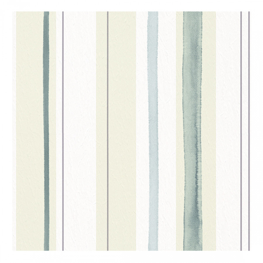 papiertapete aquarelle wei t rkis gr nbeige silber. Black Bedroom Furniture Sets. Home Design Ideas