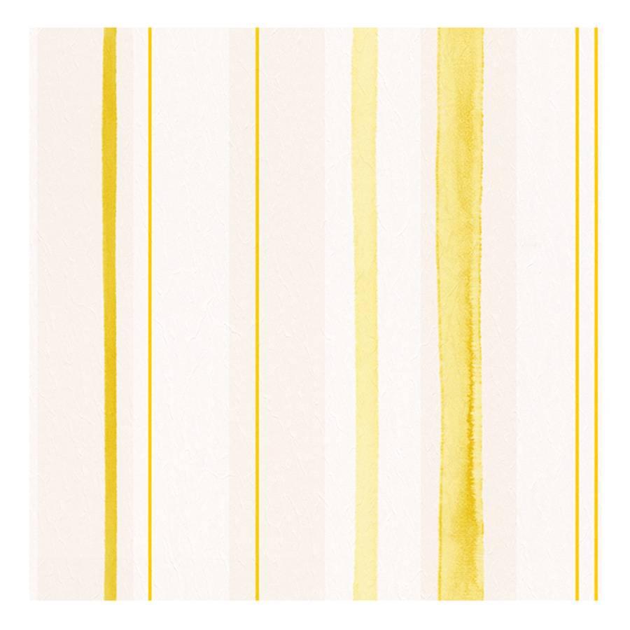 papier peint aquarelle cr me jaune lisse. Black Bedroom Furniture Sets. Home Design Ideas