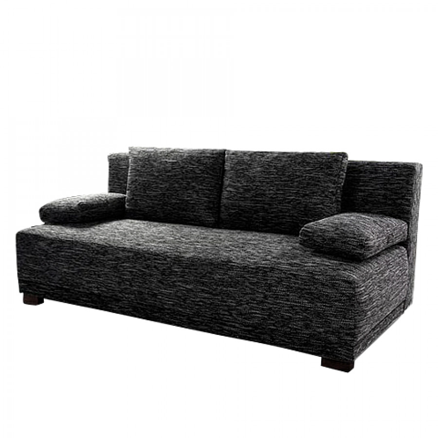 schlafsofa paradise stoff anthrazit home24. Black Bedroom Furniture Sets. Home Design Ideas