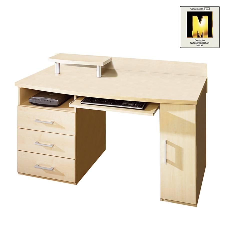 Jetzt bei home24 computertisch von r hr home24 for Schreibtisch ahorn