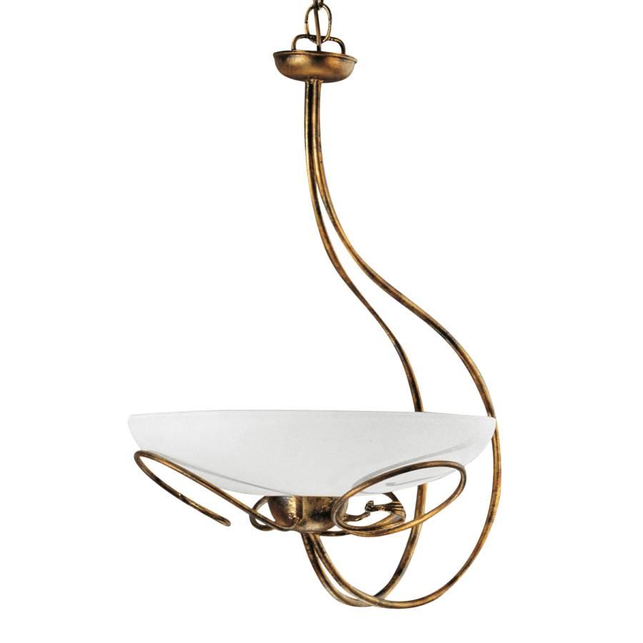 pendelleuchte cilenta metall glas home24. Black Bedroom Furniture Sets. Home Design Ideas