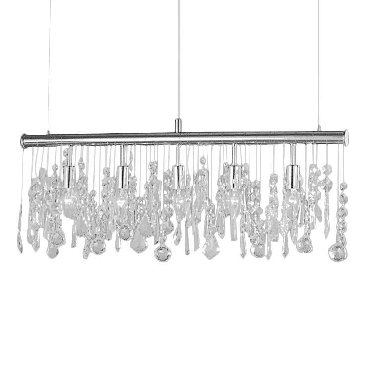 pendelleuchte crystal 5 flammig home24. Black Bedroom Furniture Sets. Home Design Ideas