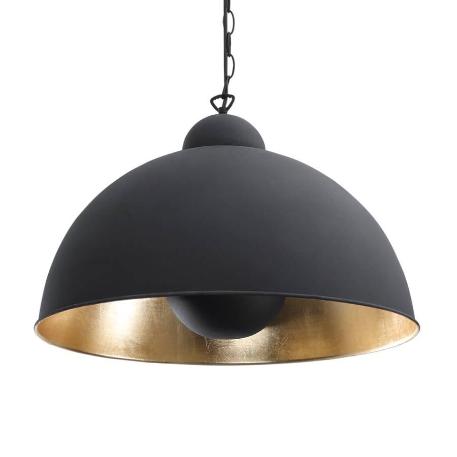 pendelleuchte irving schwarz gold 1 flammig. Black Bedroom Furniture Sets. Home Design Ideas