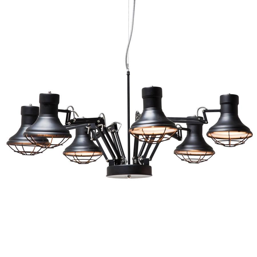 pendelleuchte spider metall 6 flammig. Black Bedroom Furniture Sets. Home Design Ideas