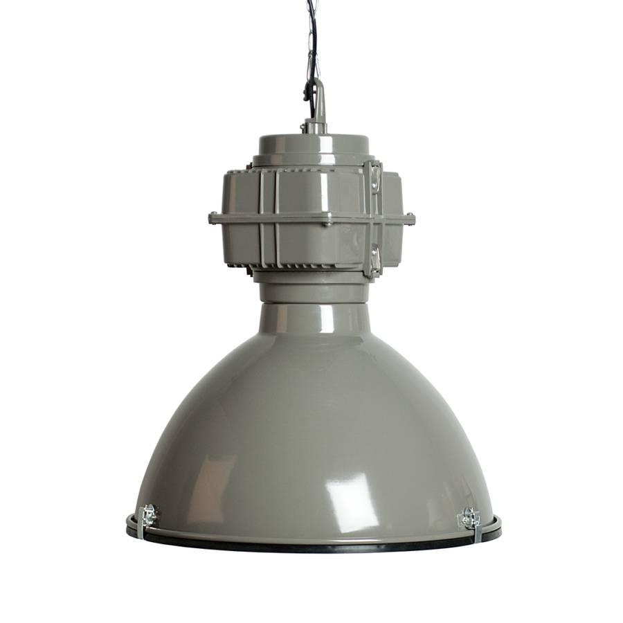 Pendelleuchte Vic Industry - Metall Grau | Home24