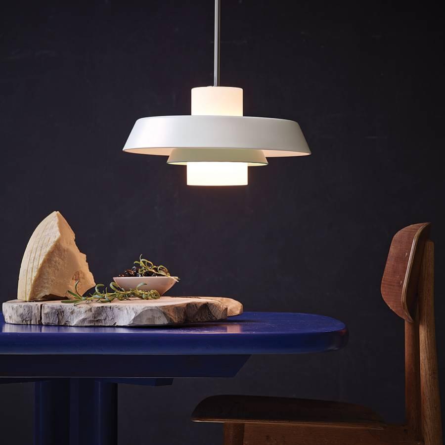 pendelleuchte y1956 metall glas home24. Black Bedroom Furniture Sets. Home Design Ideas