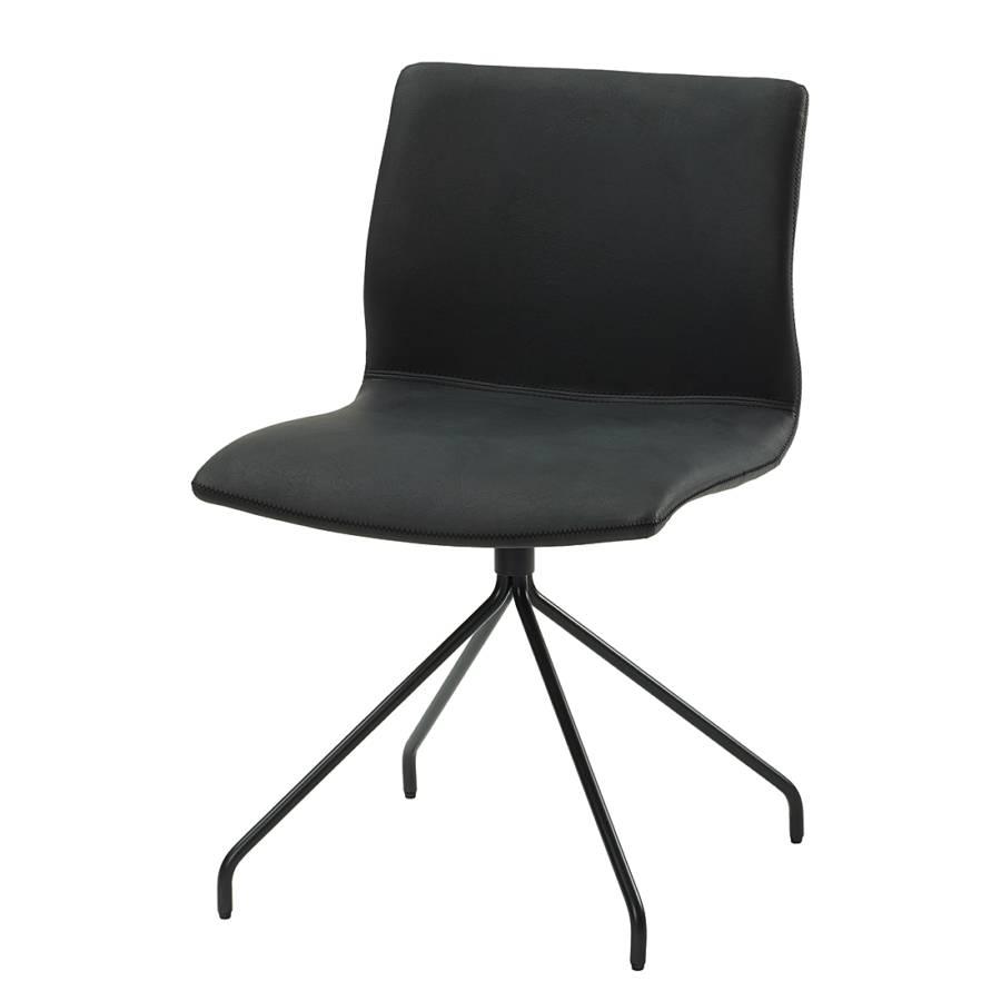 polsterstuhl gibril kunstleder edelstahl. Black Bedroom Furniture Sets. Home Design Ideas
