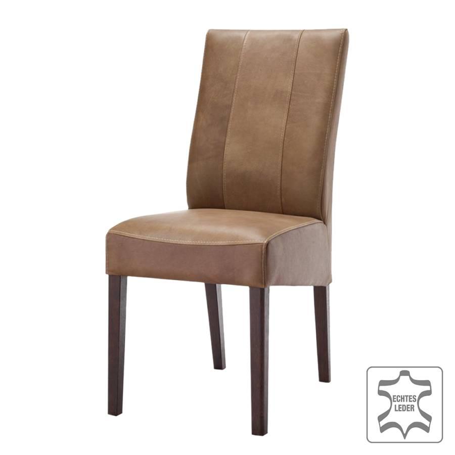 polsterstuhl jason 2er set echtleder camel home24. Black Bedroom Furniture Sets. Home Design Ideas