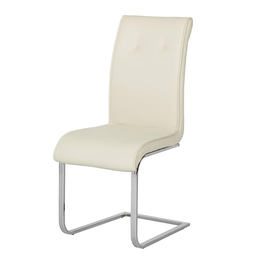 schwingstuhl lara 2er set kunstleder creme home24. Black Bedroom Furniture Sets. Home Design Ideas