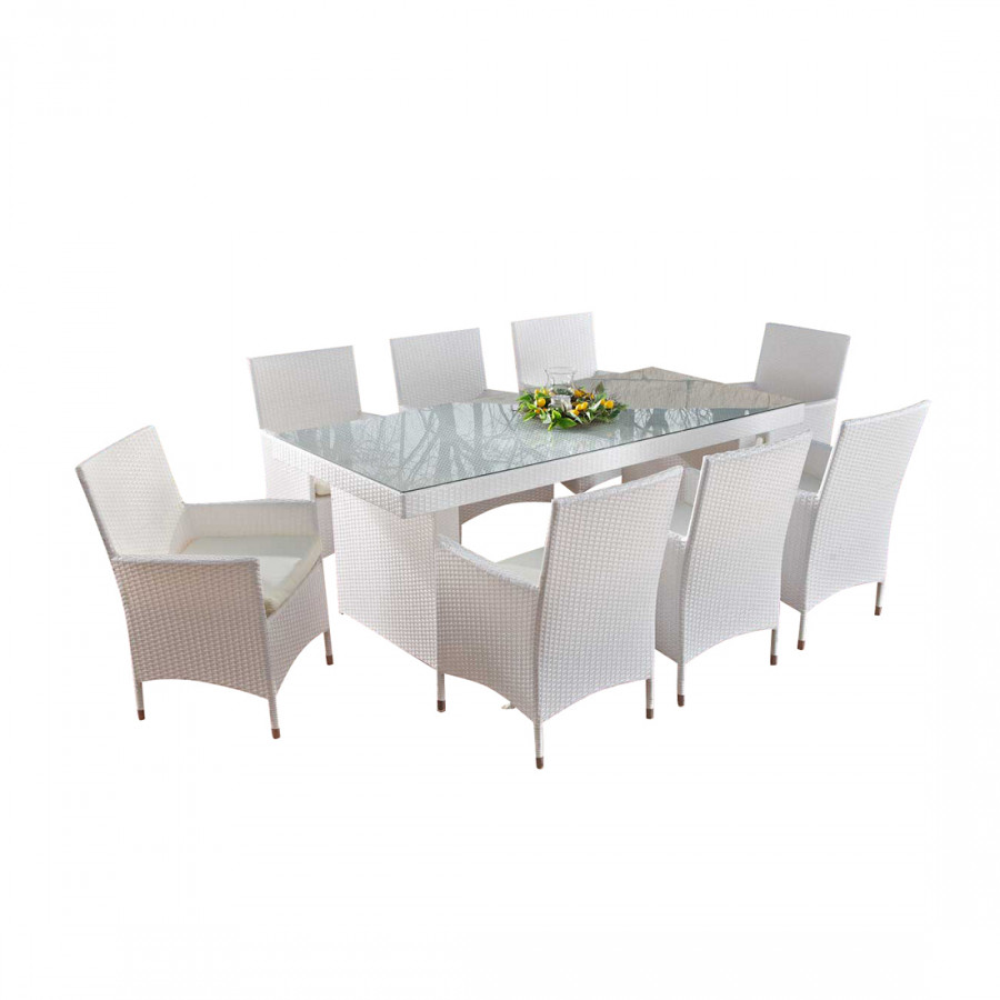 polyrattan sitzgruppe avignon big rattan home24. Black Bedroom Furniture Sets. Home Design Ideas