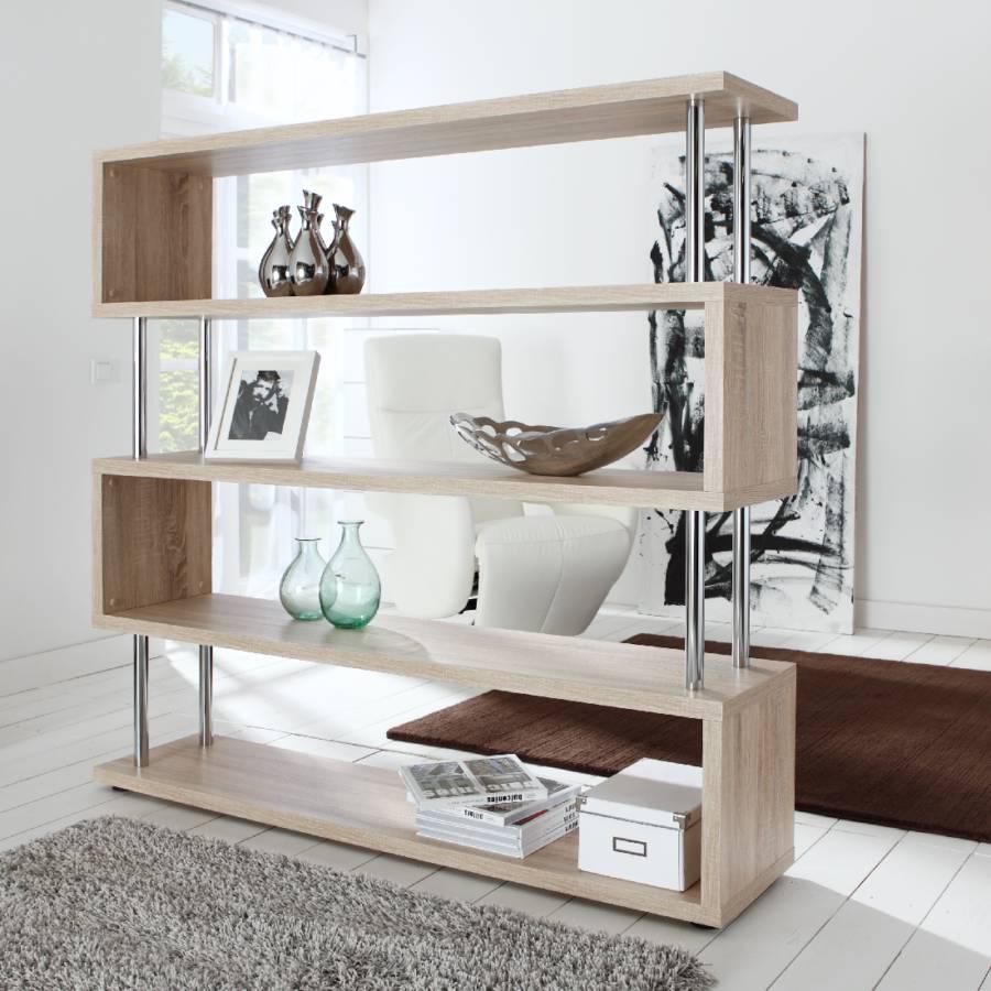 raumteiler wasco eiche sonoma dekor home24. Black Bedroom Furniture Sets. Home Design Ideas