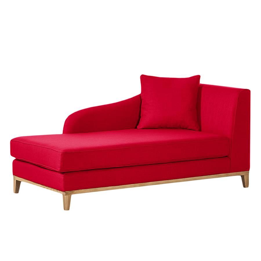 recamiere blomma webstoff rot home24. Black Bedroom Furniture Sets. Home Design Ideas