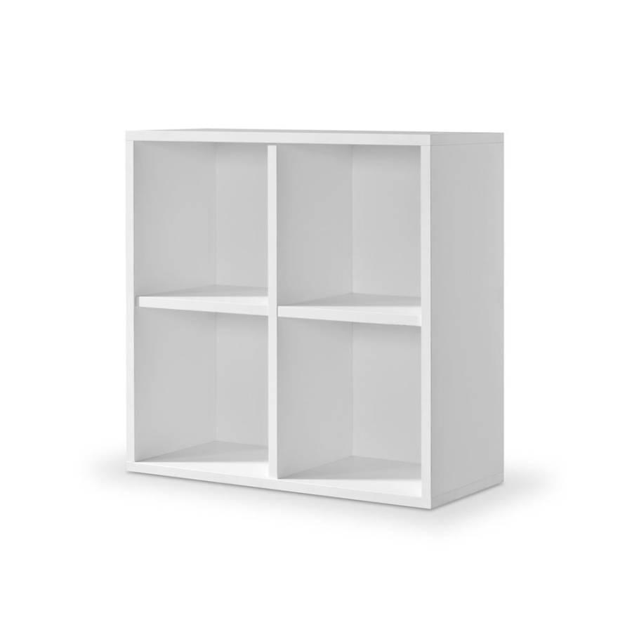 regal cube 4er spanplatten home24. Black Bedroom Furniture Sets. Home Design Ideas
