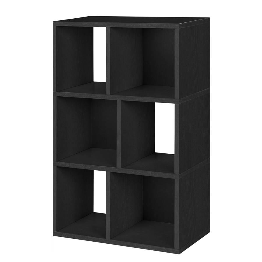 regal laguna schwarz home24. Black Bedroom Furniture Sets. Home Design Ideas