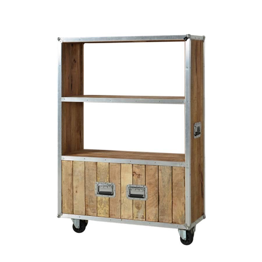 regal lions mango massivholz metall home24. Black Bedroom Furniture Sets. Home Design Ideas