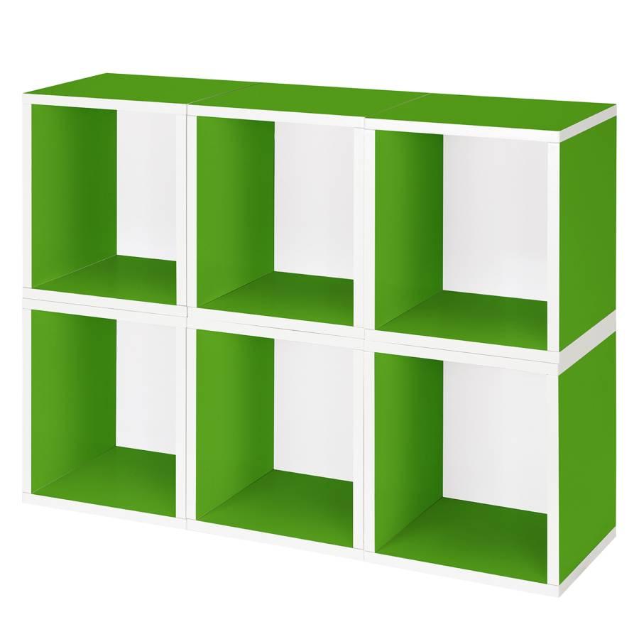 regal modular plus gr n home24. Black Bedroom Furniture Sets. Home Design Ideas