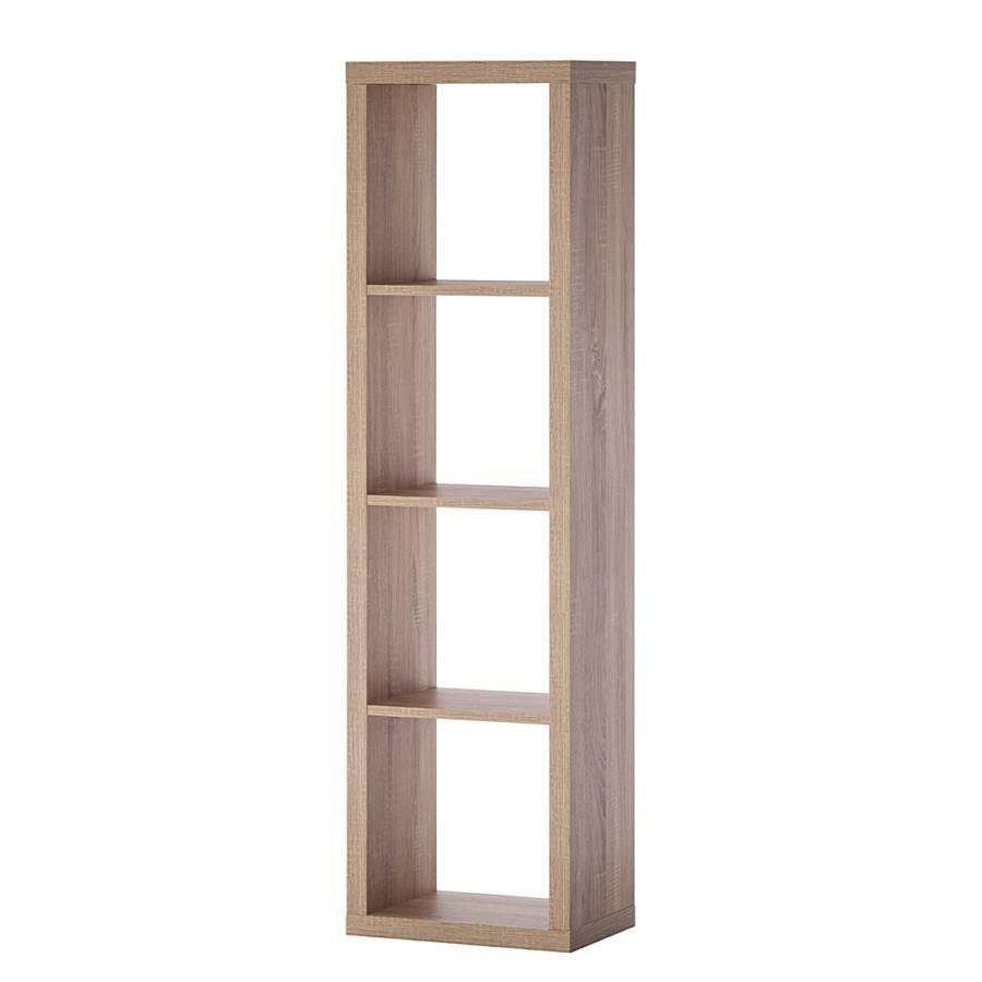 regal shelfy eiche hell home24. Black Bedroom Furniture Sets. Home Design Ideas