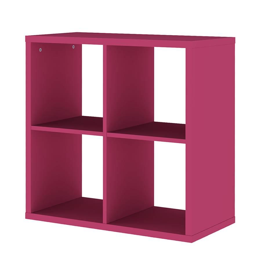 regal viereckig box fuchsia home24. Black Bedroom Furniture Sets. Home Design Ideas
