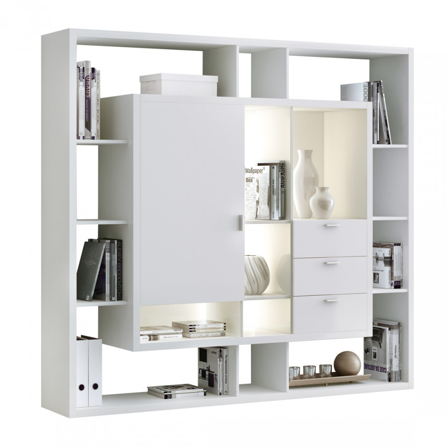 regalwand easy cremewei ii home24. Black Bedroom Furniture Sets. Home Design Ideas