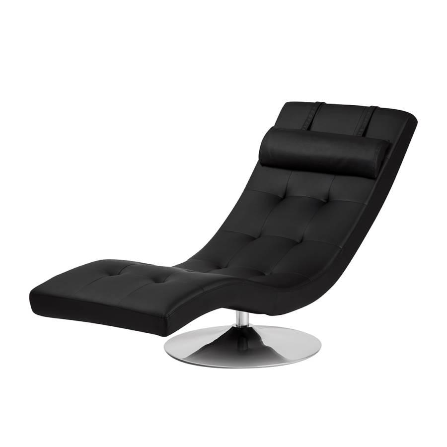 Loungestoel Verve - zwart  home24.nl