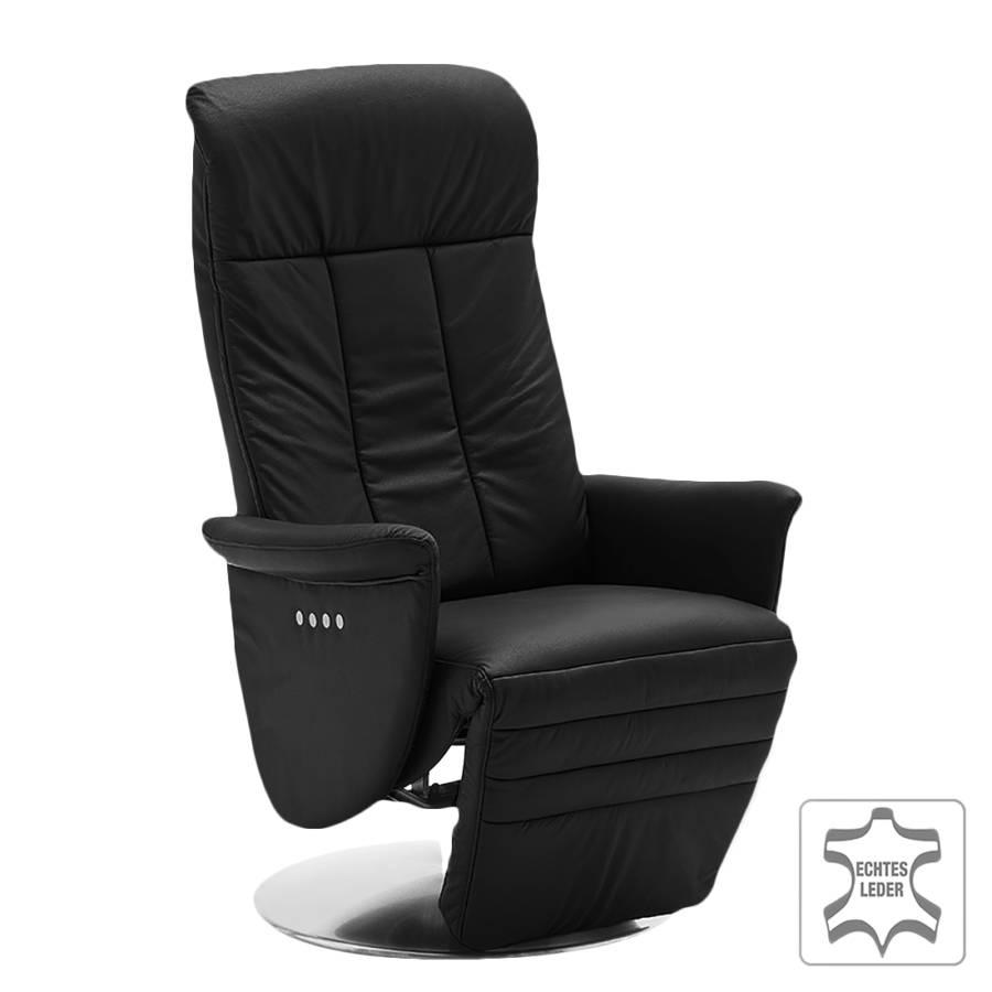 relaxsessel rupert echtleder schwarz home24. Black Bedroom Furniture Sets. Home Design Ideas