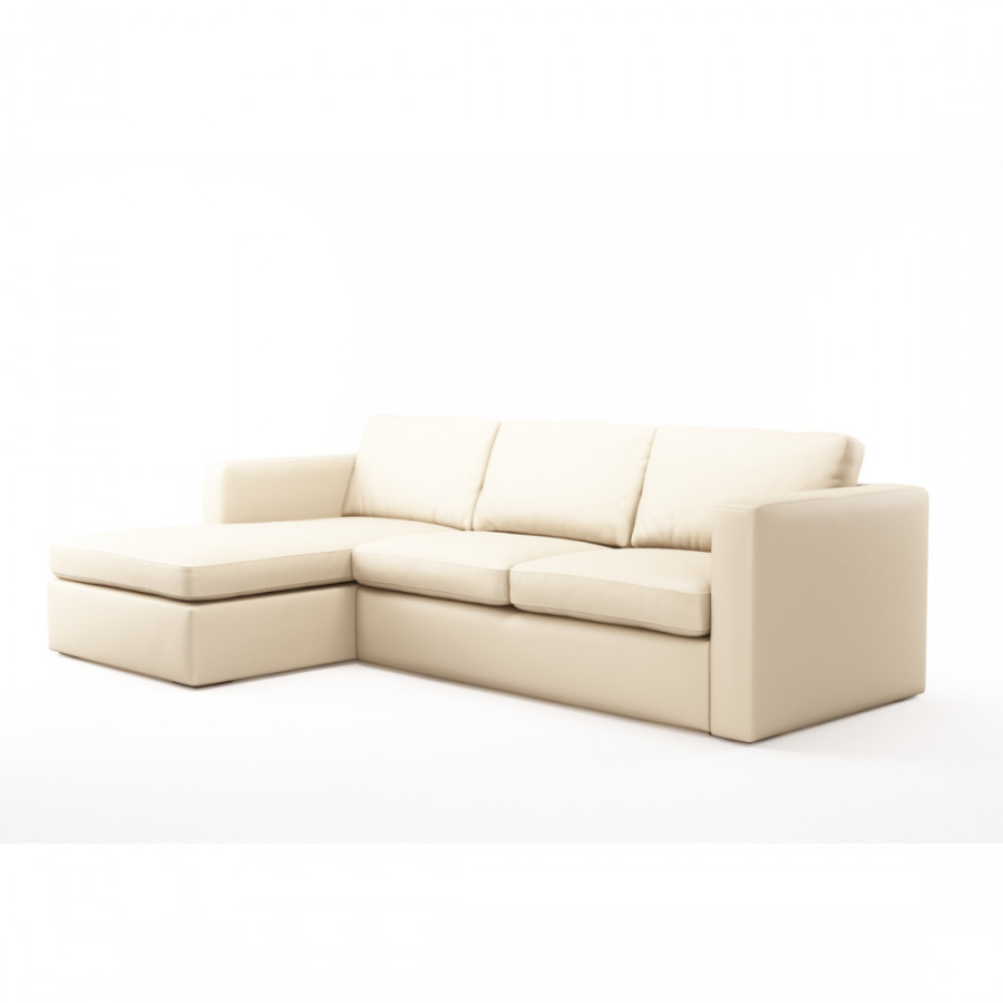 ecksofa santiago 3 sitzer mit recami re home24. Black Bedroom Furniture Sets. Home Design Ideas
