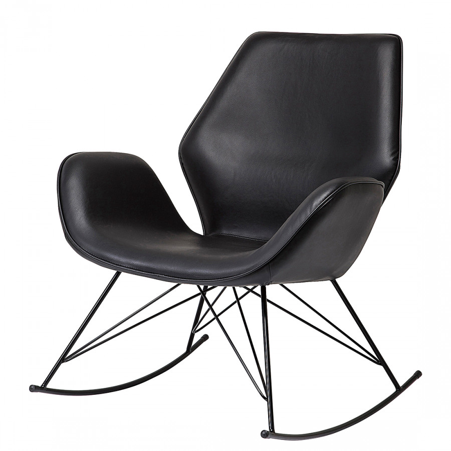 Kare design armlehnenstuhl f r ein modernes heim for Schaukelstuhl schwarz