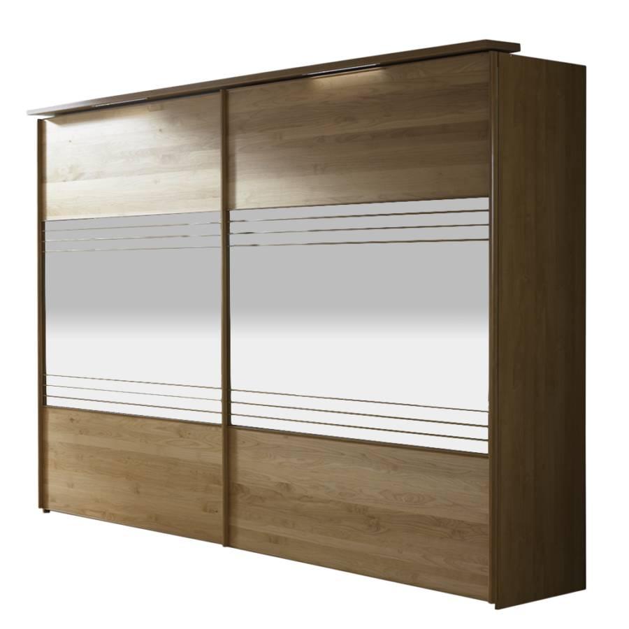 schiebet renschrank dexter kernbuche teilmassiv spiegelglas home24. Black Bedroom Furniture Sets. Home Design Ideas