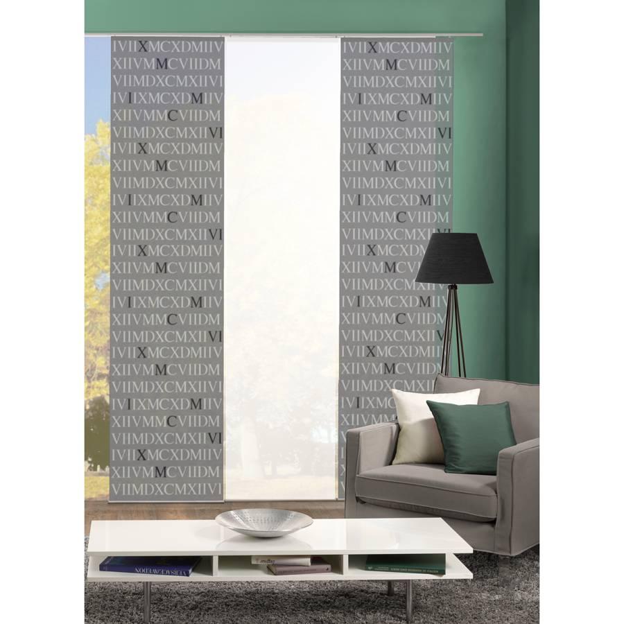 schiebevorhang listy 3er set. Black Bedroom Furniture Sets. Home Design Ideas