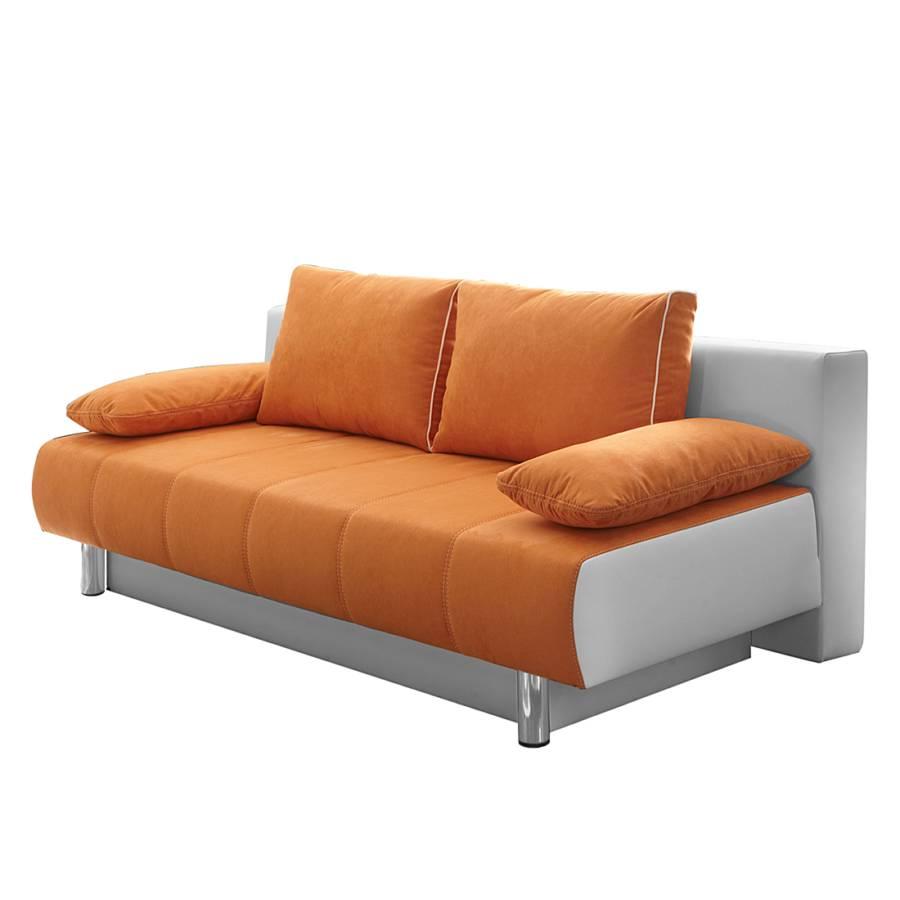 Jetzt bei home24 einzelsofa von home design home24 for Schlafsofa orange