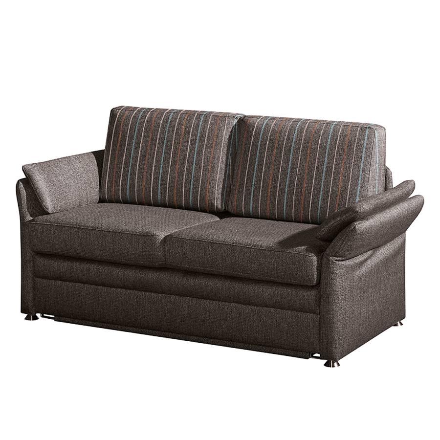 schlafsofa marry webstoff braun home24. Black Bedroom Furniture Sets. Home Design Ideas