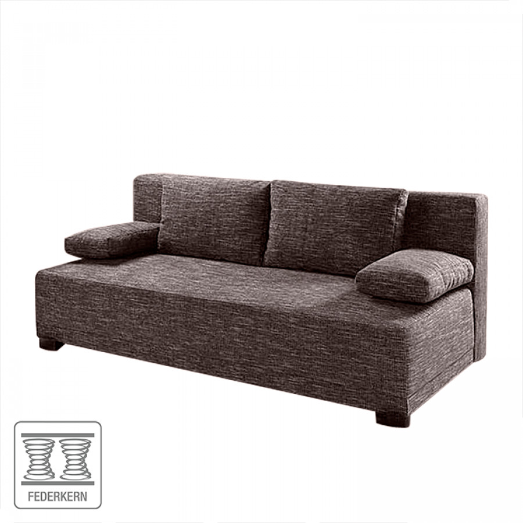 Einzelsofa von home design bei home24 kaufen home24 for Schlafsofa braun