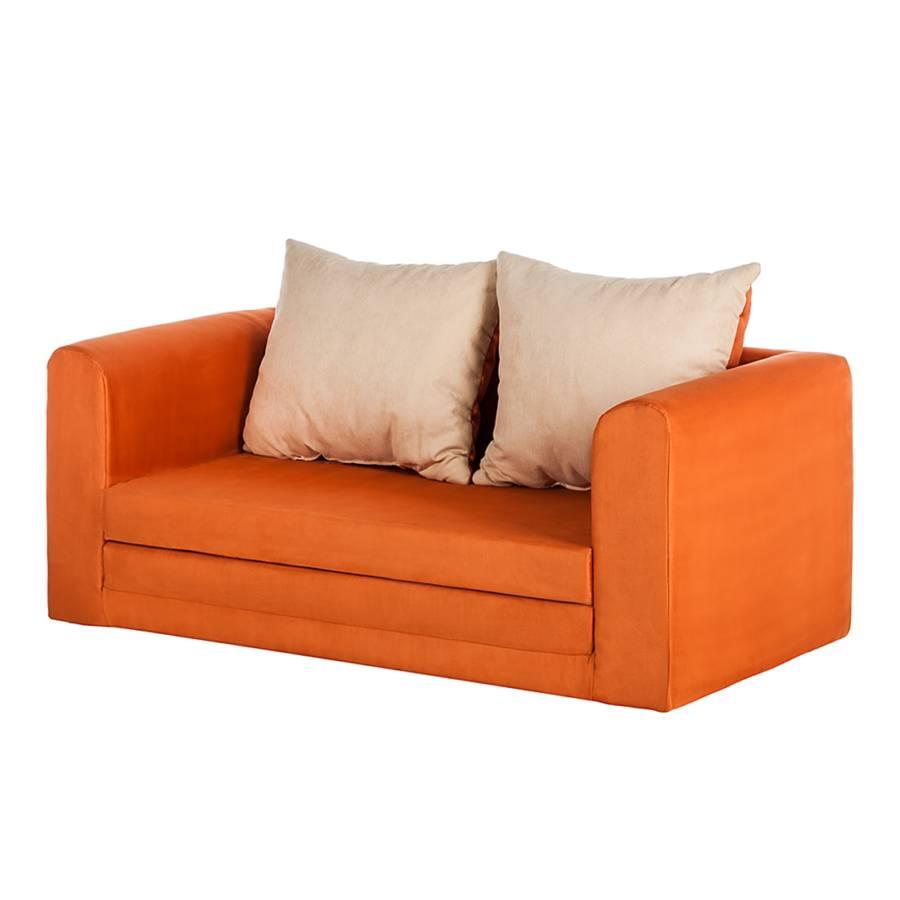 Einzelsofa von mooved bei home24 bestellen home24 for Schlafsofa orange
