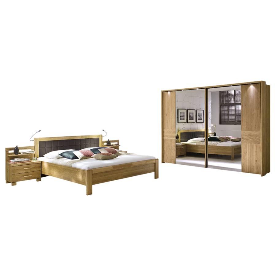 schlafzimmer bari eiche natur home24
