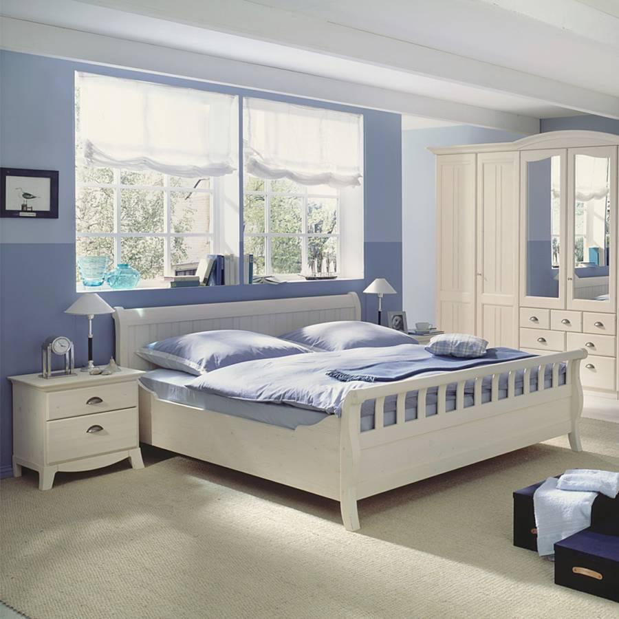 schlafzimmerm bel set akzenta 3 teilig wei kaufen home24. Black Bedroom Furniture Sets. Home Design Ideas