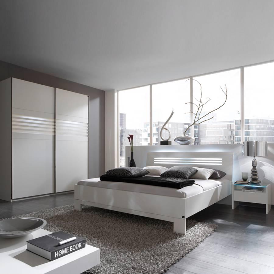 schlafzimmerm bel set mondo 4 teilig wei home24. Black Bedroom Furniture Sets. Home Design Ideas