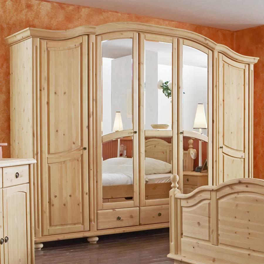 schlafzimmerm bel set senore 4 teilig kiefer kaufen home24. Black Bedroom Furniture Sets. Home Design Ideas