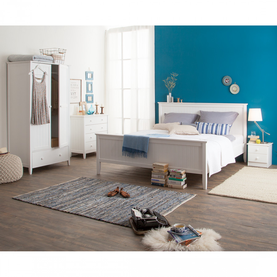Chambre coucher madeleine 5 l ments pin for Chambre a coucher 5 etoiles