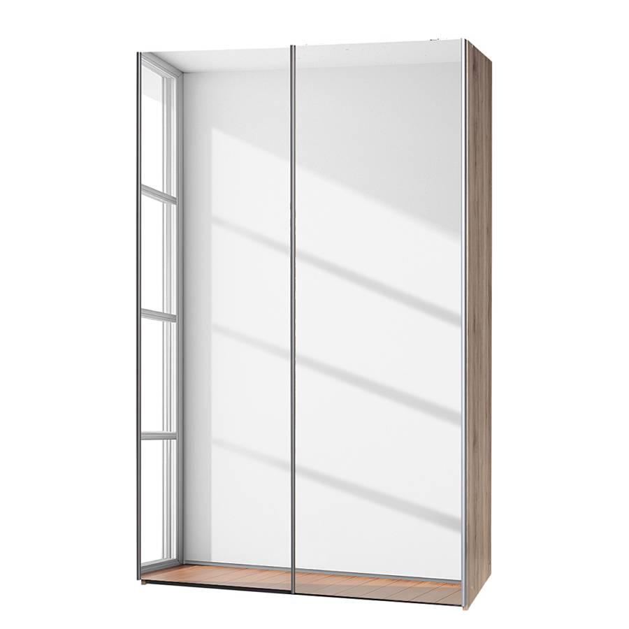 schwebet renschrank soft smart ii eiche sanremo dekor spiegelt ren home24. Black Bedroom Furniture Sets. Home Design Ideas