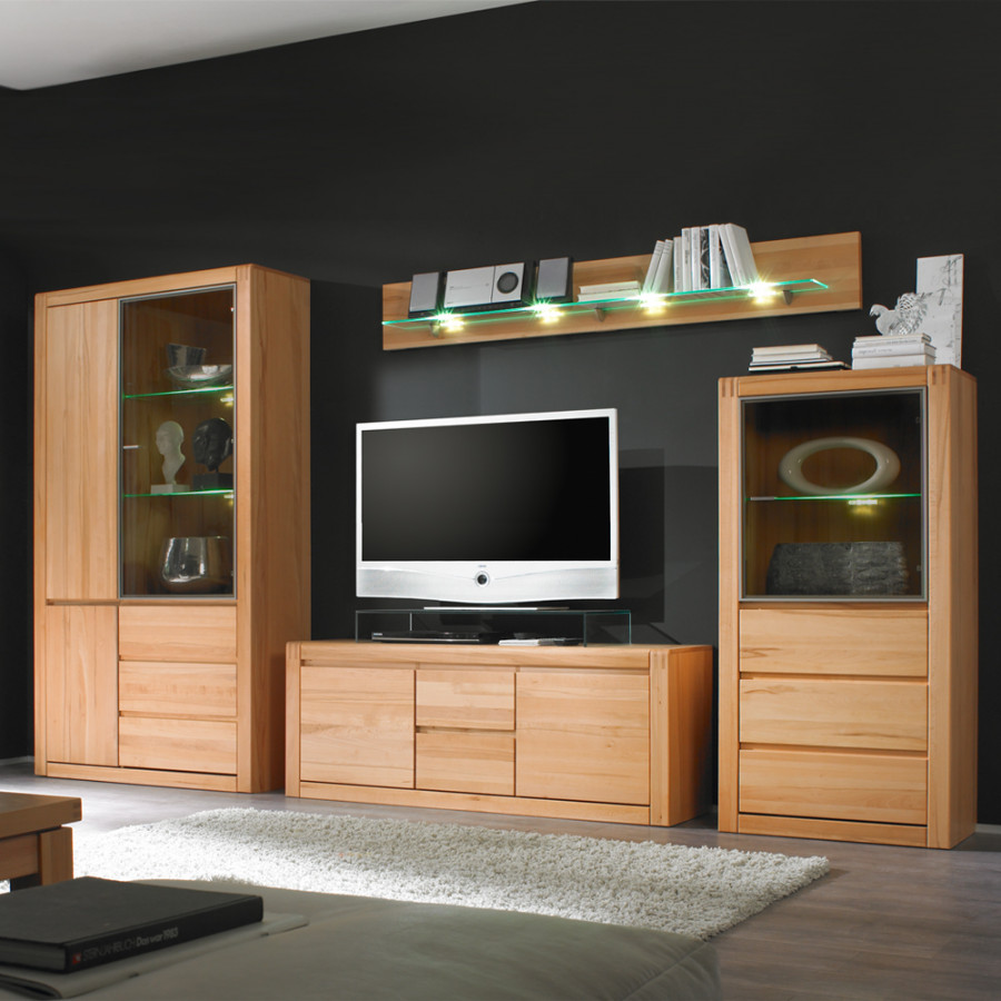 m bel exclusive wohnwand f r ein sch nes zuhause home24. Black Bedroom Furniture Sets. Home Design Ideas