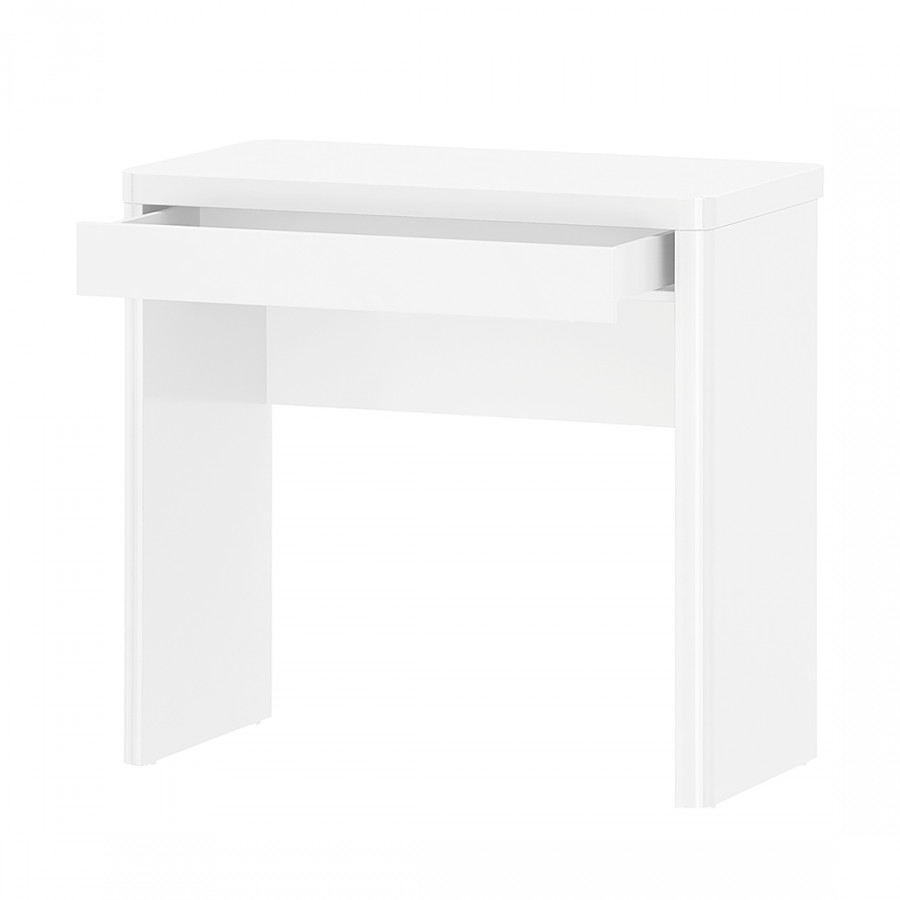 bureau cuuba libre 80 blanc brillant. Black Bedroom Furniture Sets. Home Design Ideas