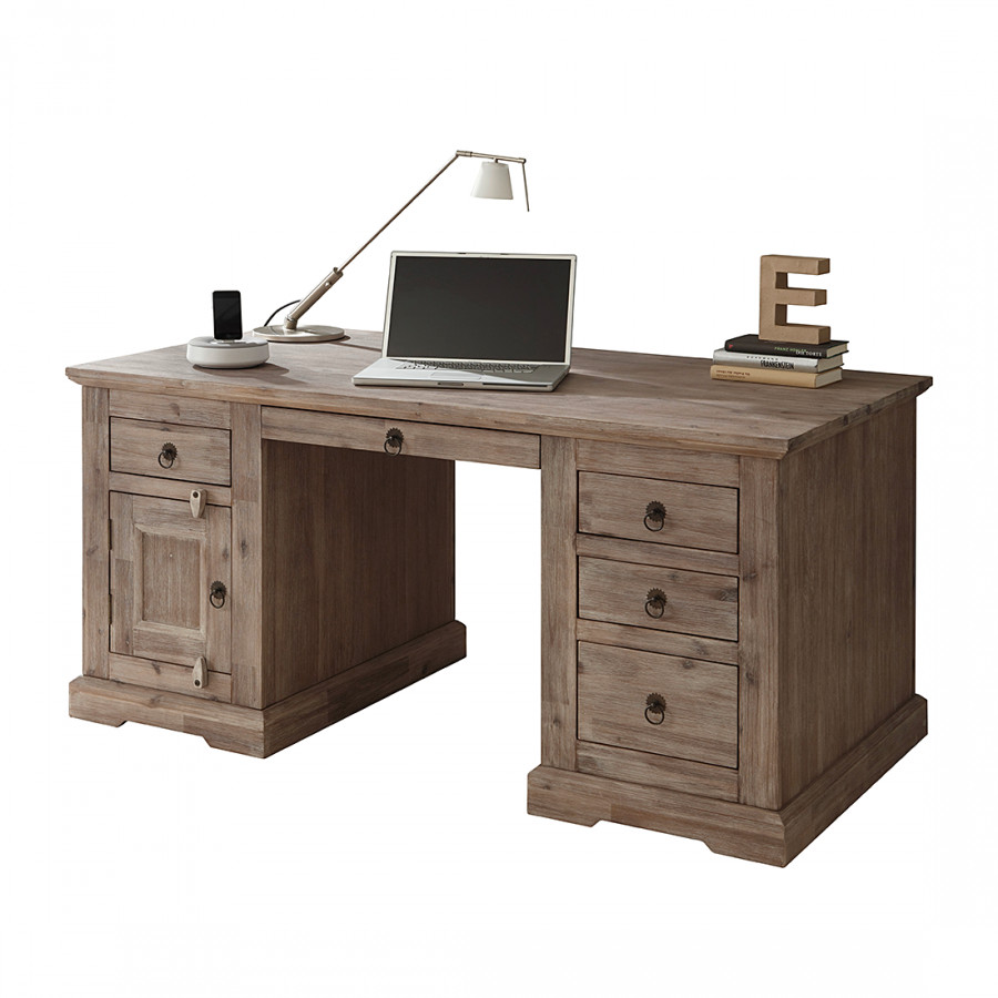 jetzt bei home24 schreibtisch von wolf m bel home24. Black Bedroom Furniture Sets. Home Design Ideas