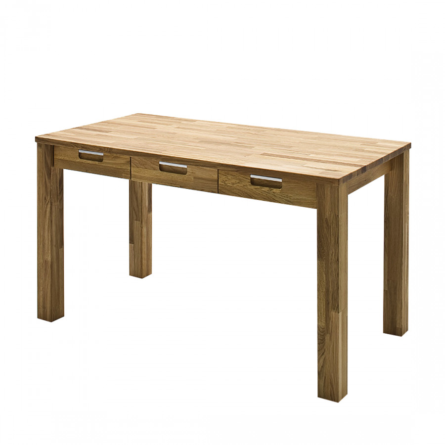 schreibtisch lumberjack massivholz wildeiche kaufen home24. Black Bedroom Furniture Sets. Home Design Ideas