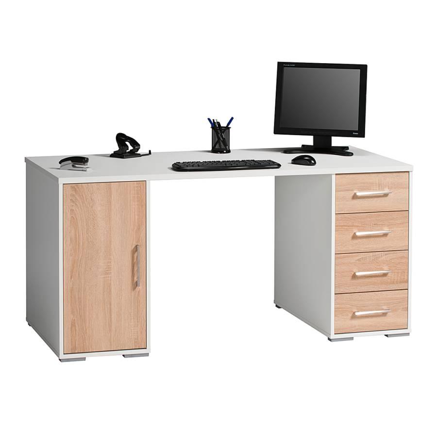 home24office computertisch f r ein modernes zuhause home24. Black Bedroom Furniture Sets. Home Design Ideas
