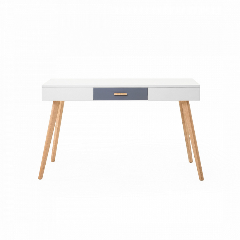 Schreibtisch Rush - Weiß - 120 x 55 x 74 cm