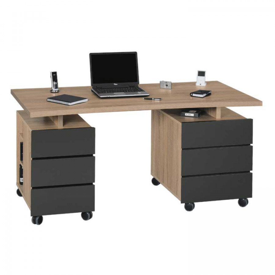 jetzt bei home24 computertisch von franco m bel home24. Black Bedroom Furniture Sets. Home Design Ideas