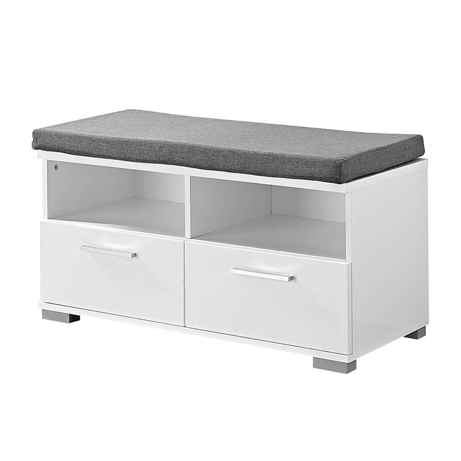 schuhbank campo hochglanz wei. Black Bedroom Furniture Sets. Home Design Ideas
