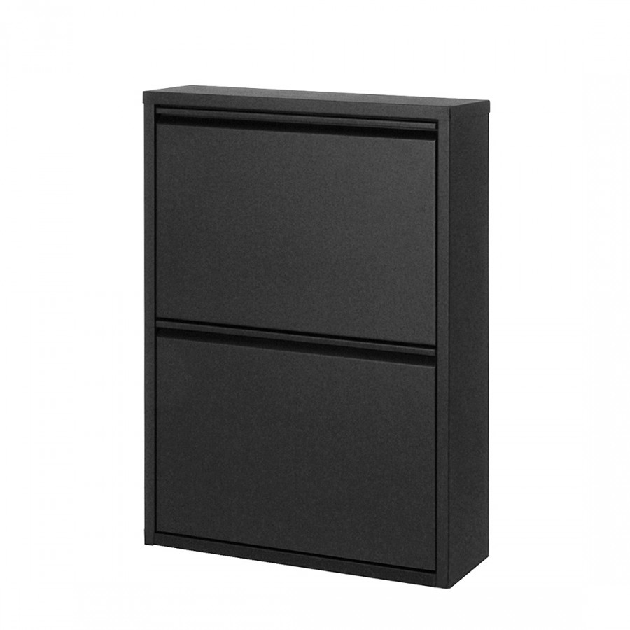 schuhschrank cabinet metall schwarz home24. Black Bedroom Furniture Sets. Home Design Ideas